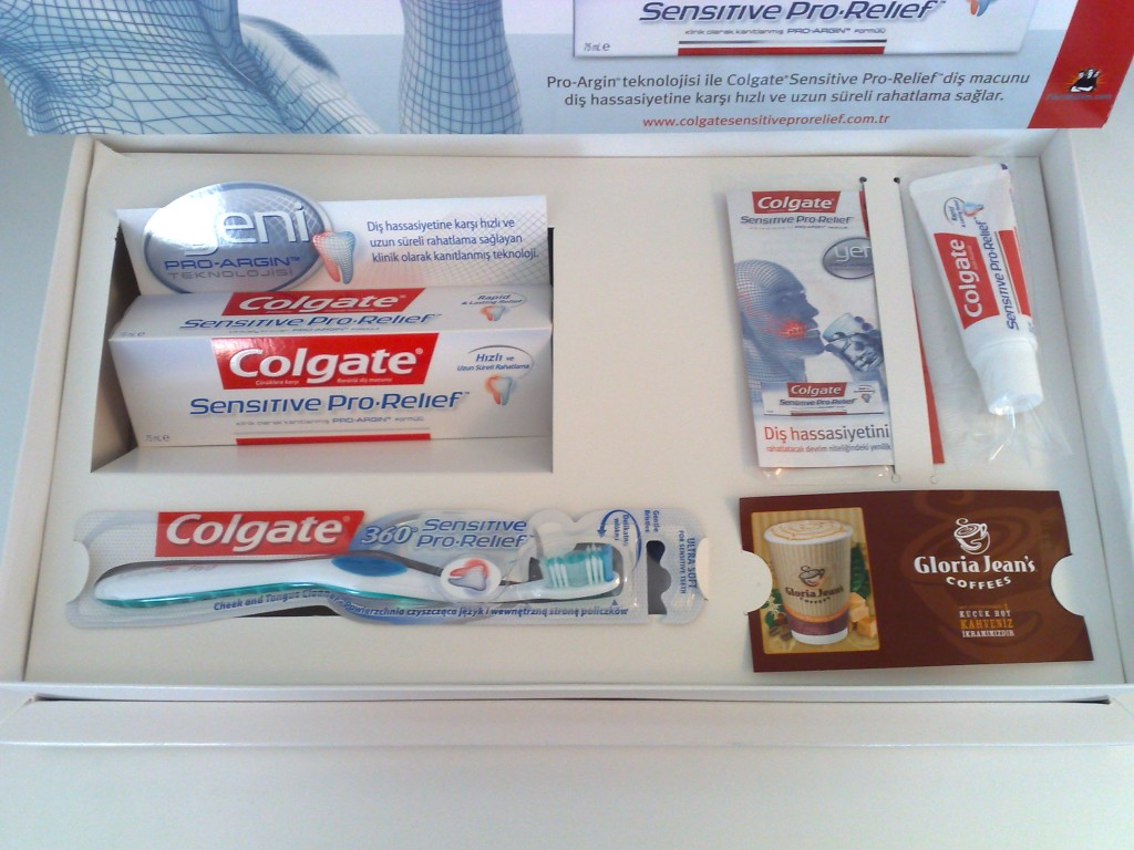 Colgate Sensitive Pro Relief - terapötik diş macunu 91