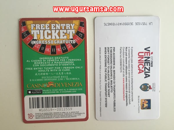 venezia unica ticket